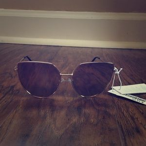 Brown Cat Style Sunglasses